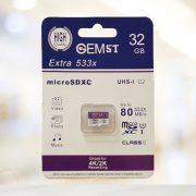 کارت حافظه microSDXC USH-I جم اس تی ظرفیت 32 گیگابایت