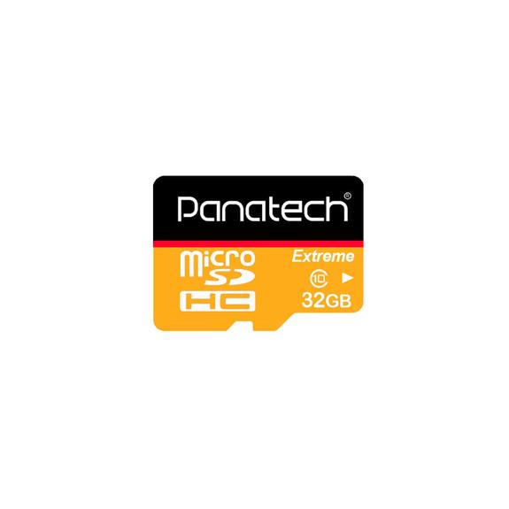 کارت حافظه microSDHC USH-I پاناتک همراه با آداپتور ظرفیت 32 گیگابایت