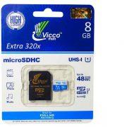 کارت حافظه microSDXC UHS-I ویکو همراه با آداپتور SD ظرفیت 8 گیگابایت
