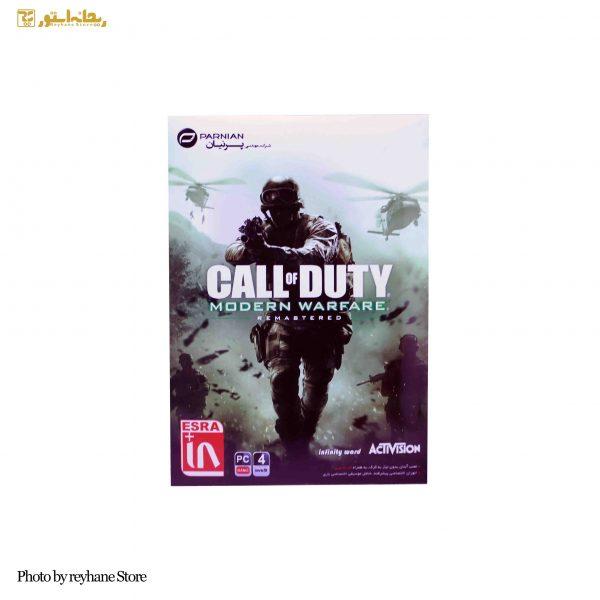 بازی Call of Duty Modern Warfare Remastered نشر پرنیان
