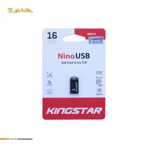 فلش مموری کینگ استار Nino KS215 ظرفیت 16 گیگابایت
