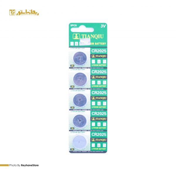 باتری سکه ای تیانکیو CR2025