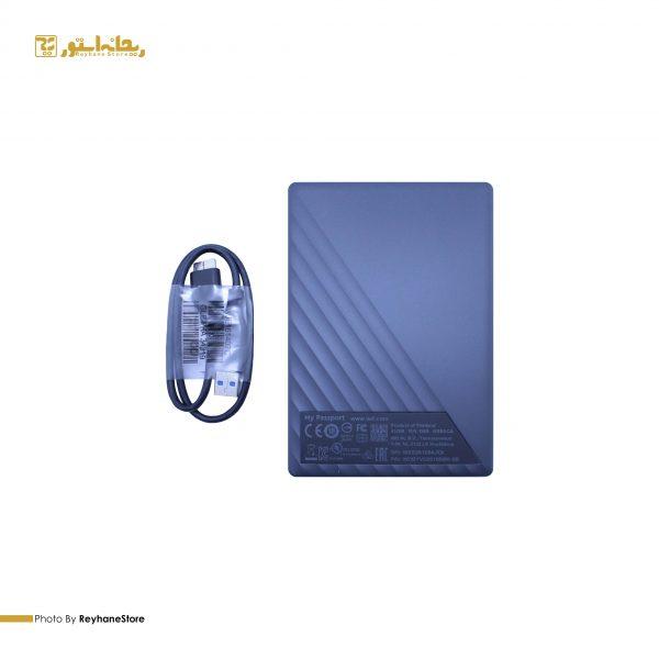 هارد اکسترنال وسترن دیجیتال My Passport ظرفیت 1 ترابایت