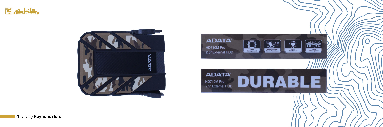 هارد دیسک اکسترنال ای دیتا HD710M Pro ظرفیت 2 ترابایت