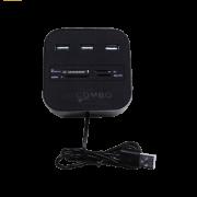هاب USB و رم ریدر کمبو