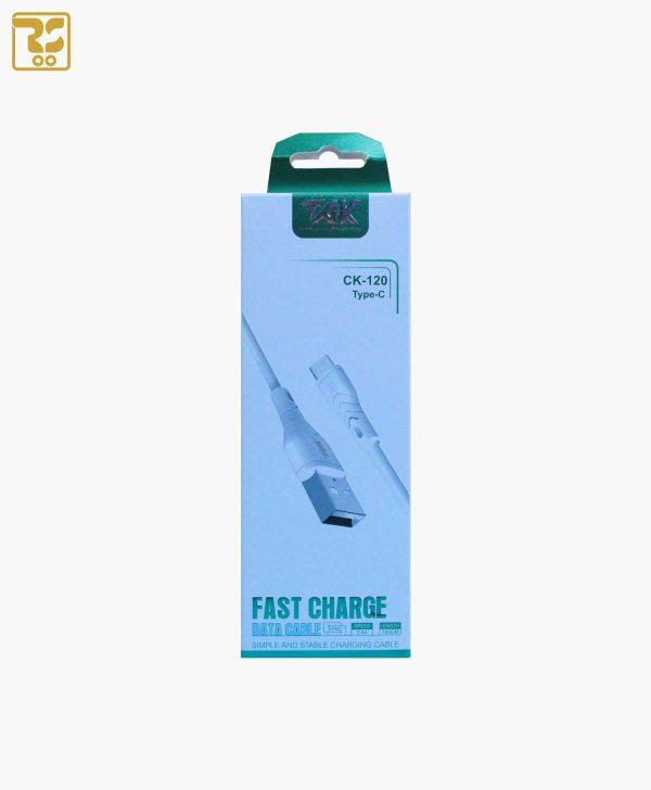 کابل تبدیل USB به Type-C تک CK-120